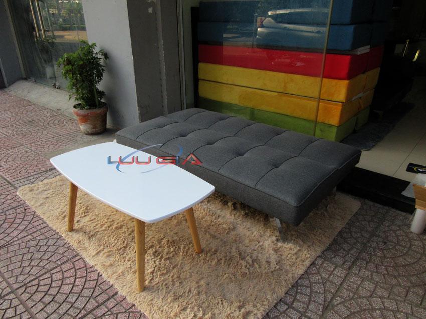 Sofa Giường Màu Xám