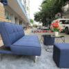 Sofa Giường Màu Xanh LGBX01