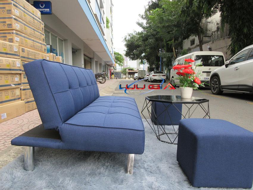 Sofa bed mau xanh